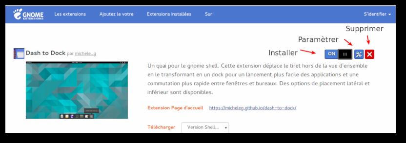 Parametrage De Dock Ubuntu